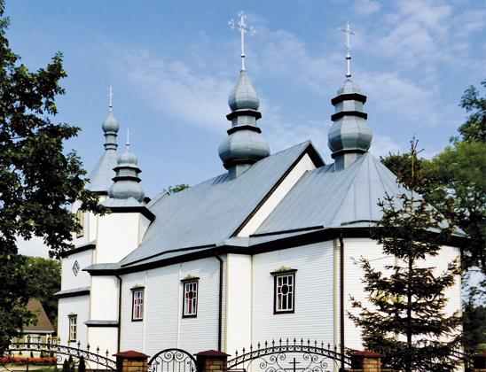 Спасо-Преображенская церковь Богородицы.