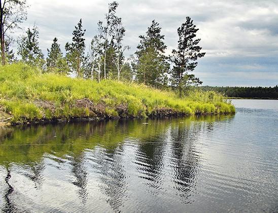 Святое озеро.