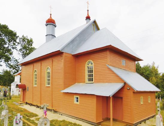 Церковь святого Михаила Архангела.