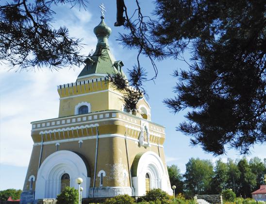 Свято-Петропавловский храм-памятник.
