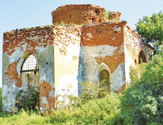 Бывшая Троицкая церковь.