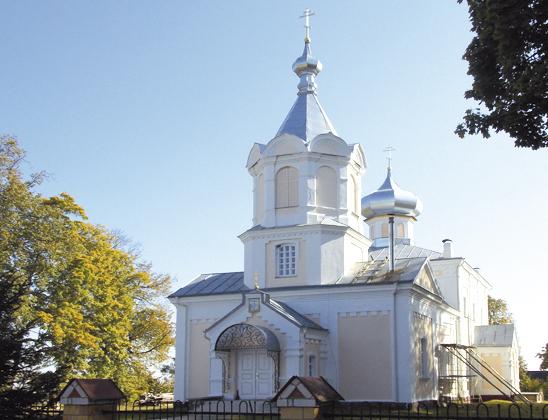 Крестовоздвиженская церковь.