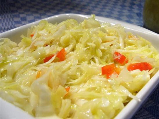 Рецепт быстрого приготовления салатной капусты
