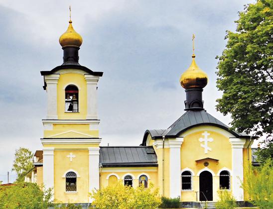 Свято-Никольская церковь.