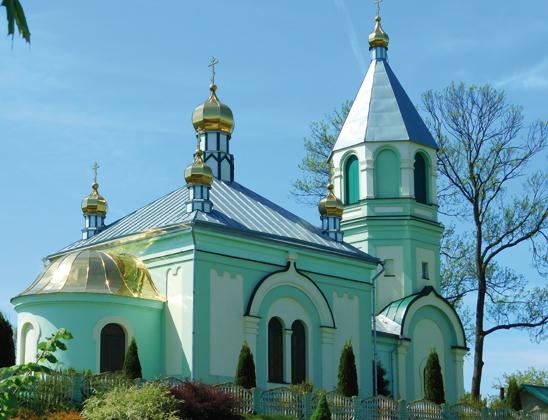 Церковь Вознесенская.