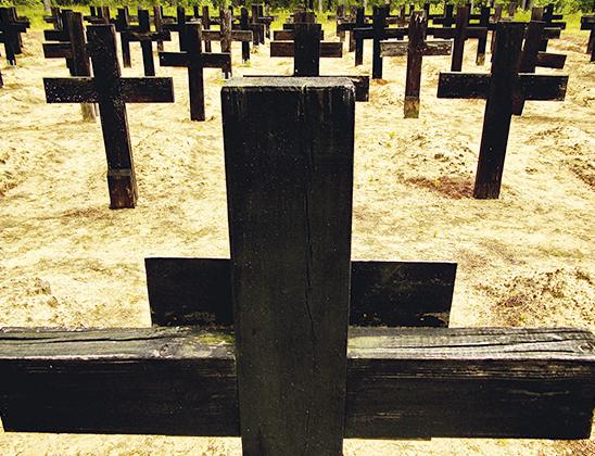 Кладбище немецких солдат.