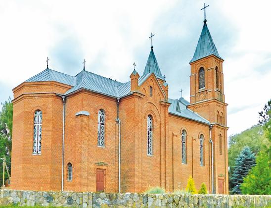 Костел Святого Якова.
