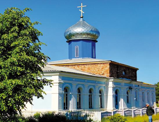 Свято-Тихвинская православная церковь.
