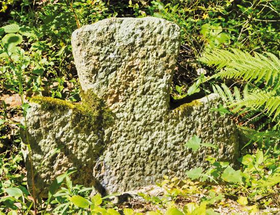 Каменный крест.