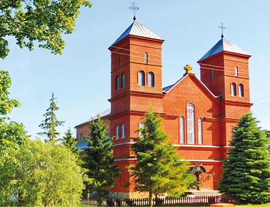 Костел Вознесения Девы Марии.