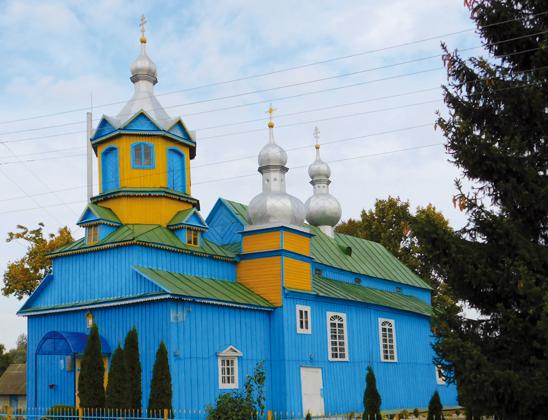 Церковь Архангела Михаила.