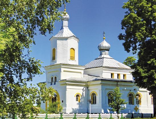 Воздвиженская церковь.