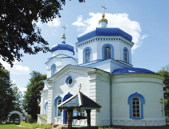 Свято-Михайловская церковь.
