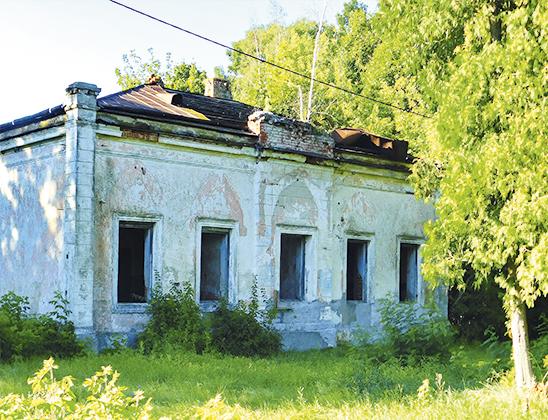 Здание бывшей почтовой станции.